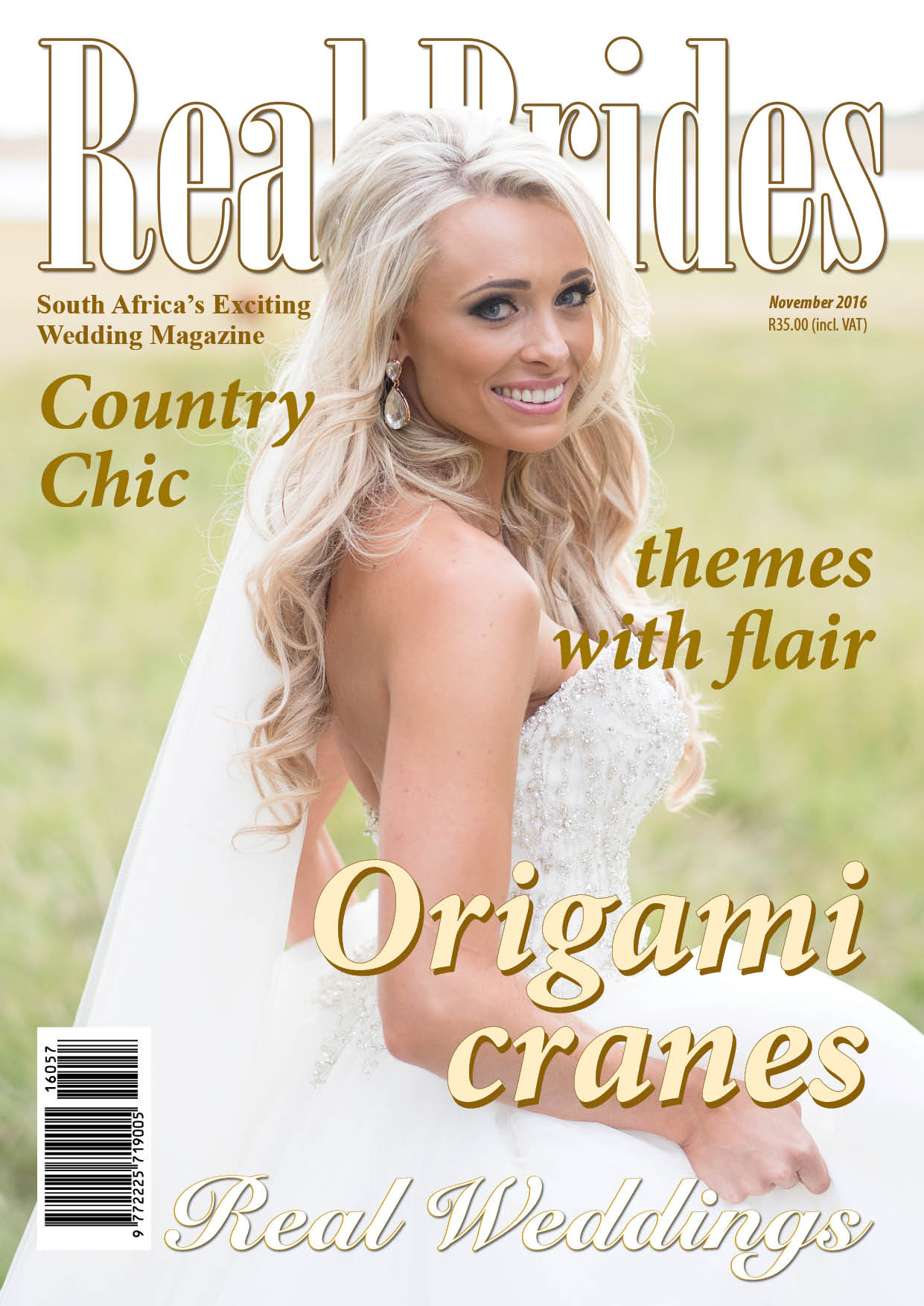 REAL BRIDES MAGAZINE – NOVEMBER 2016