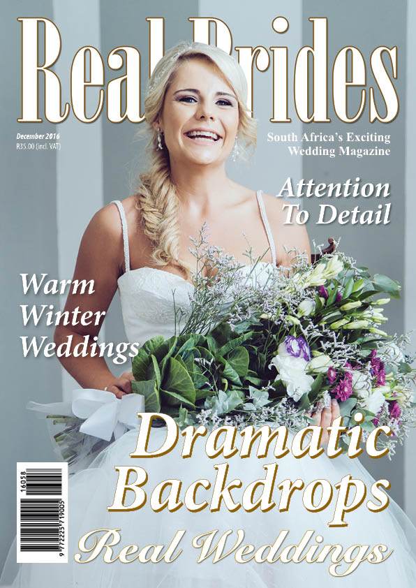 REAL BRIDES MAGAZINE – DESEMBER 2016
